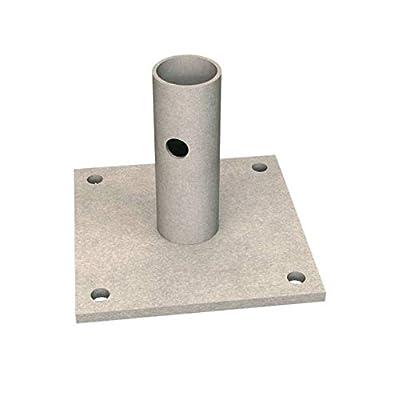 Bon 14-284 6-Inch by 6-Inch Scaffold Base Plate