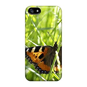 For Iphone 5/5s Protector Cases Beautiful Colorful Butterflies 07 Phone Covers