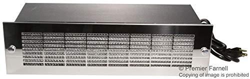 HB3250A - Enclosure Cooling, Rack Mount Intake Blower, HB Series, Steel, 133.35 mm, 431.8 mm, 198.37 mm (HB3250A)