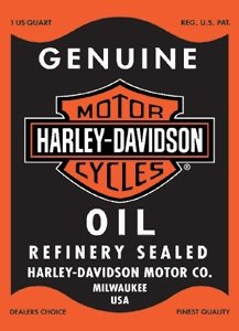 De Harley Davidson Porcelana Cartel Oil Rectangle - 10601021 ...
