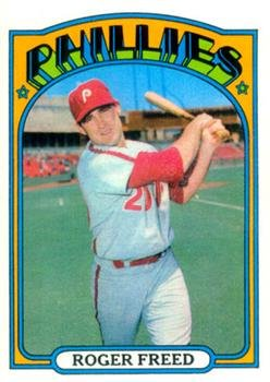 1972 Topps #69 Roger Freed Baseball Card-EX-MT *GOTBASEBALLCARDS by Topps