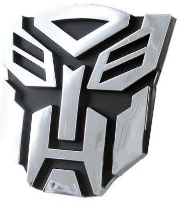 Autek Transformers 3D Decoration Car Sticker-Cool Autobot Chrome Emblem (Transformers Hood Ornament compare prices)