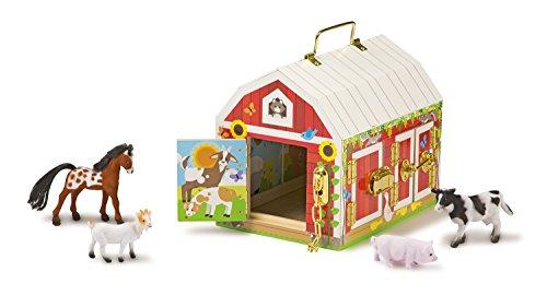 Melissa Doug Latches Barn Toy
