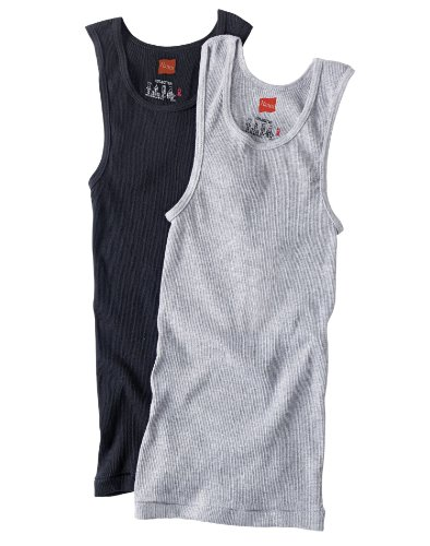Boys Hanes 4 Pack Cotton Tagless Tanks Asst Small