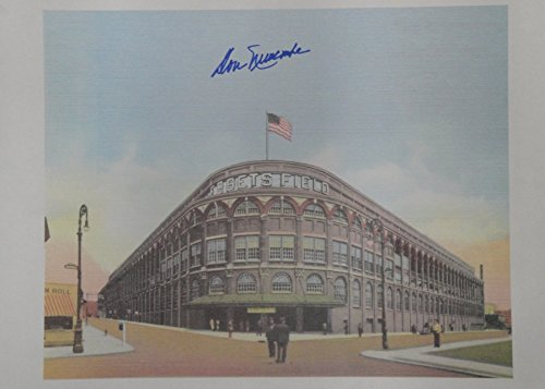 Don Newcombe Hand Signed Autographed 16x20 Paper Print Ebbets Field Dodgers
