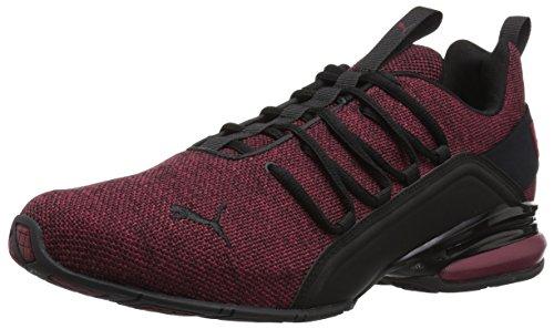 - PUMA Men's Axelion Sneaker, Pomegranate Black, 8 M US