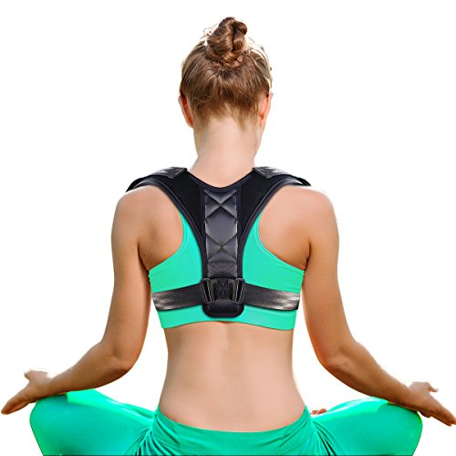 Mopao Back Support Posture Corrector, Brace Trainer for Men&Women&Kids Under Clothes, Providing Relief from Neck Pain, Back Pain, Shoulder Pain & Bad Posture (Type1) by Mopao