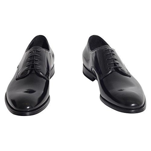 DOUCAL'S Homme 1003UF7EOLDNERO Noir Cuir Chaussures À Lacets