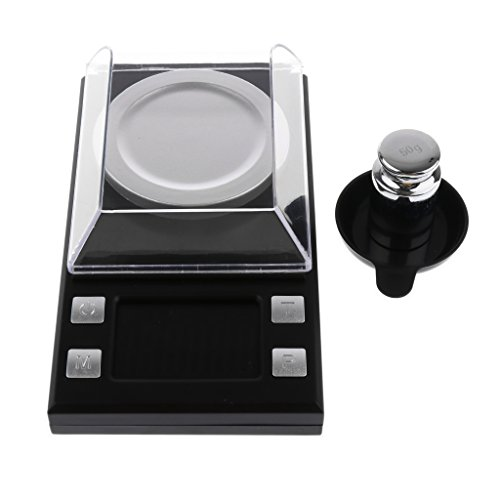 - Baoblaze Digital Milligram Pocket Scale Mini Jewelry Gold Carat Powder Weigh Scales LCD Display