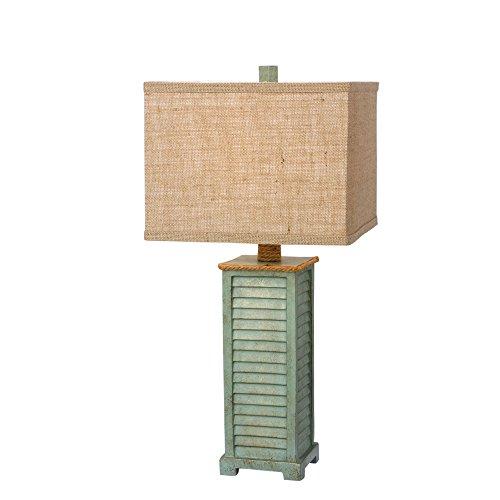 Martin Richard W-6224AGRN Resin Table Lamp, 25.5