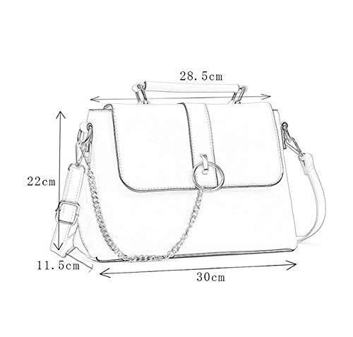 Main Fashion Sac Capacité Grande 22 30 Span Femme 11 Paquet Sxuefang Épaule Unique Pour Tempérament 5 Cm À Oblique A De dYw6fI