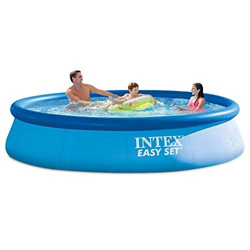 Intex 12ft X 30in Easy Set Pool Set with Filter Pump (Renewed)