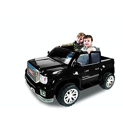 Rollplay GMC Sierra Denali 12 Volt Ride-On Vehicle, Black: Toys & Games
