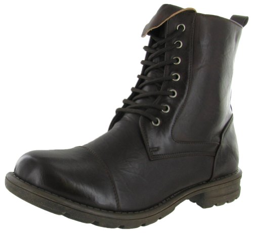 Moda Essentials Men's Combat Boots Work Boots Military Brown Size 10