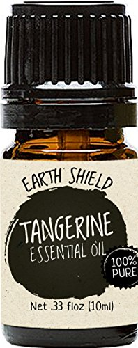 Earth Shield Tangerine Essential Oil is 100% Pure and Therap