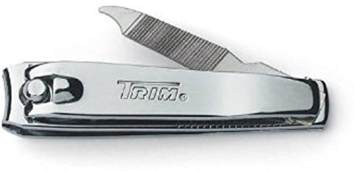 Trim Deluxe Fingernail Clippers with File (Packaging may - Deluxe Nail Clipper
