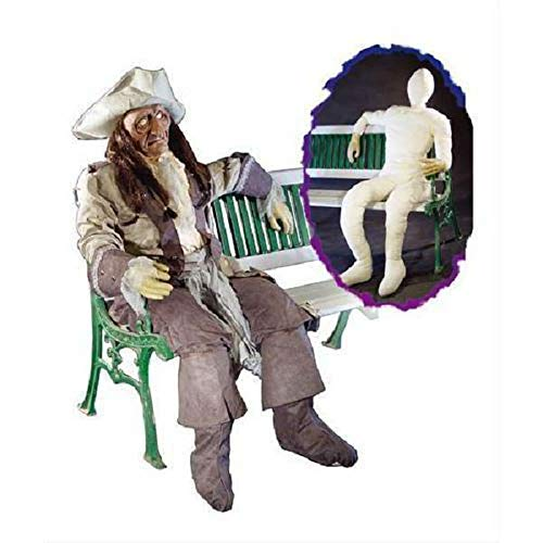 Life-Size Stuffed Dummy Lifelike Hands 6' Tall Halloween Decoration Prop Scary by Tru Sales -