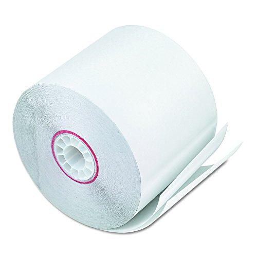 PM empresa duplicado calculadora rollos, blanco (50por caja) (08801–)