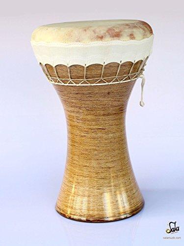 Professional Solo Clay Darbuka Ceramic Dohola Doumbek KIK-623 by SALA