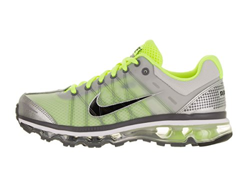 Nike Air Max 2009 Mens Running-shoes 486978-017_8.5 - Grigio Neutro / Nero-volt-bianco