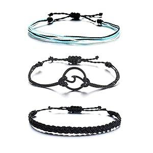 choice of all VSCO String Wave Bracelet Adjustable Friendship Bracelet Handcrafted Jewelry Women