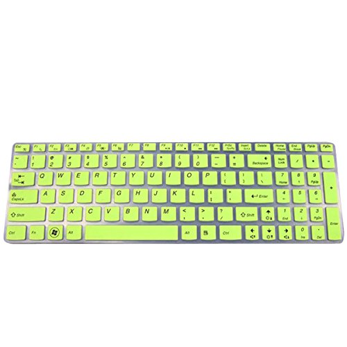 Click to buy G.G.Martinsen Green Notebook Computer Keyboard Membrane Keyboard Protective Film Dust for Lenovo Pad G580 Y580 Z580 V580 B580 G500 - From only $80