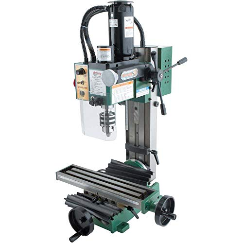 "Grizzly Industrial G8689-4"" x 16"" 3/4 HP Mini Milling Machine"