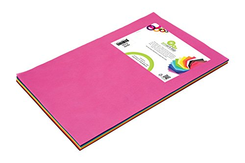 Smart-Fab Disposable Craft Fabric 12 x 18 Inch Sheets, Assorted Colors, Pack of 45 Sheets: Perfect for Schools, Classrooms, Crafts, Art, Bulletin Boards, Sew, Draw, Paint it, Unique Non Woven Material (SFB23812184599) Smart Fab Disposable Fabric