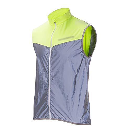 Mannen MTB Fietsen Vest Waterdicht Mouwloos Gilet Winddicht Ademend (Kleur: Groen, Maat: L)