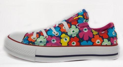 Donna Chuck Raspberry Rhineston Multicolore Unikko blue Ox Sneaker Converse Marimekko Taylor 1PAwnFqxqg