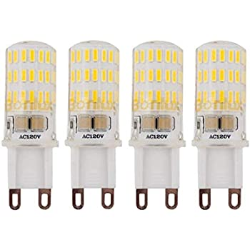 Amazon Com Bonlux 4 Pack G9 Base Dimmable Led Light Bulb