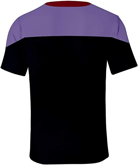 Silver Basic Camiseta 3D para Hombre Movie Star Trek The Next ...