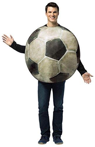 Rasta Imposta Get Real Soccer Ball, White/Black, One Size