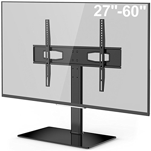 Fitueyes Universal TV Stand/ Base Tabletop TV Stand with Mou
