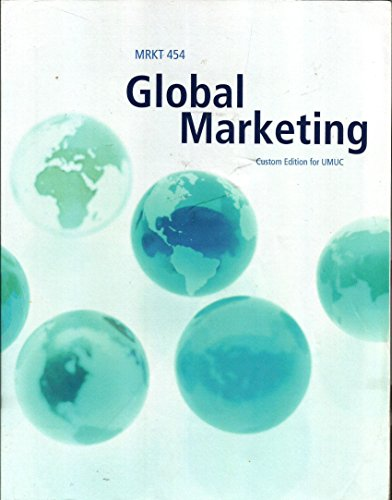 Global Marketing -MRKT 454