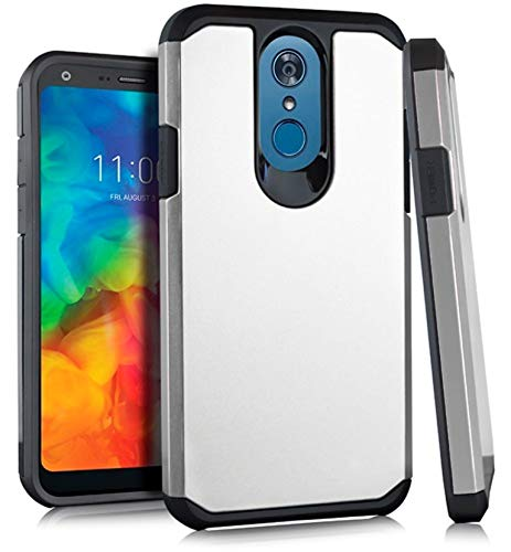Amazon com: AH2 Hybrid Cover Case for {T-Mobile} LG Q7 Plus