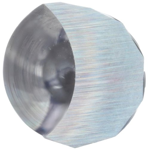 variant image of LMT Onsrud 62-775 Solid Carbide Downcut Spiral O Flute Cutting Tool, Inch, Uncoated (Bright) Finish, 21 Degree Helix, 1 Flute, 2.5000