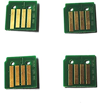 7800DX 106R01582 4 x DRUM Chip 7800GX Refill 7800DN for Xerox Phaser 7800