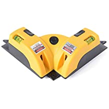 XCSOURCE® Right Angle 90 degree Vertical Horizontal Laser Line Projection Square Level Laser Square