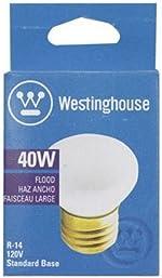 Westinghouse 40 watts R14 Floodlight Incandescent Bulb E26 (Medium) White 1