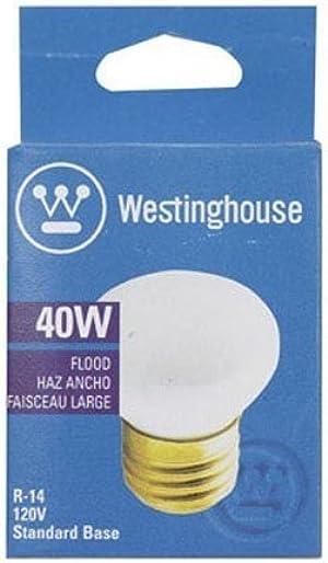 Westinghouse 40 watts R14 Floodlight Incandescent Bulb E26 (Medium) White 1 pk