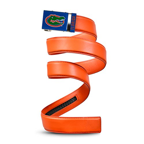 NCAA Florida Gators Mission Belt, Orange Leather, Medium (up to 35)