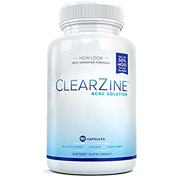Amazon Com Clearzine Acne Solution The Best Natural Acne Pills