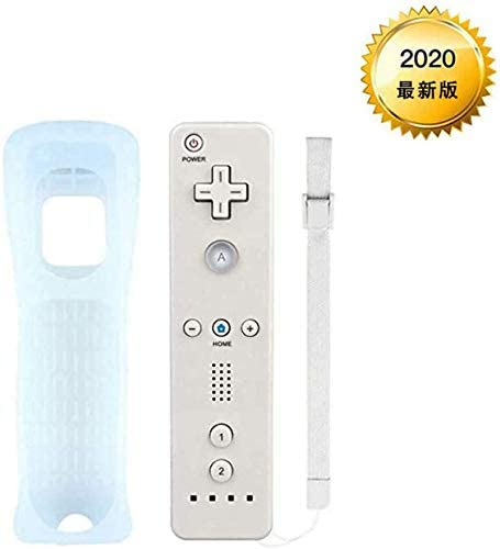 Wiiリモコン (ホワイト) (「Wiiリモコンジャケット」同梱)