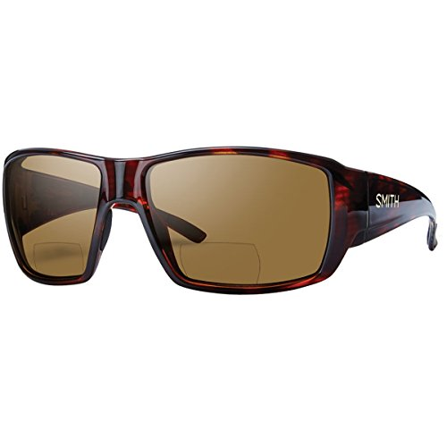 Smith Guides Choice Bifocal Polarized Sunglasses Matte Havana/Brown 2.00, One Size - - Guides Sunglasses