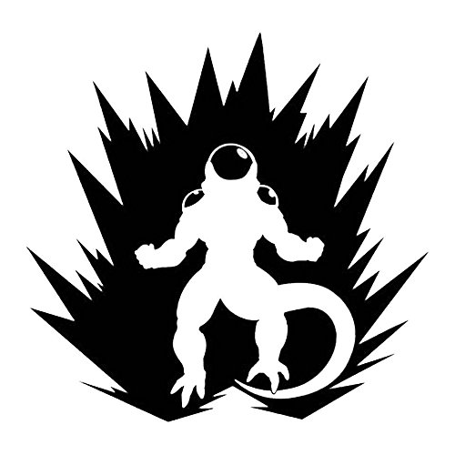 DBZ Dragon Ball Z Power Up Frieza, Gold, 22 Inch, Die Cut Vinyl Decal, For Windows, Cars, Trucks, Toolbox, Laptops, Macbook-virtually Any Hard Smooth Surface by LCK Unique Design (Image #3)'