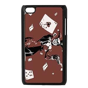 Customize Joker Harley Quinn Back Case for ipod Touch 4 JNIPOD4-1376