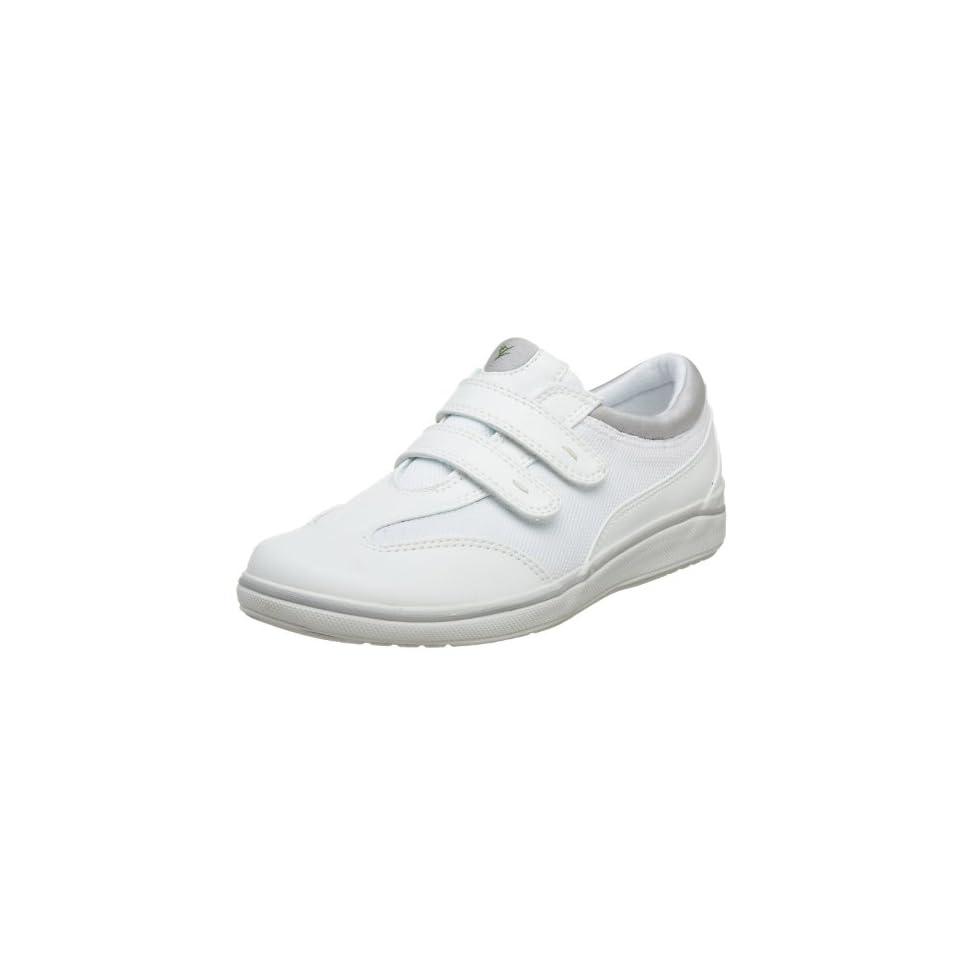 "Women's Grasshoppers ""Stretch Plus Strap"" Sneakers   White (5W, White) Shoes"