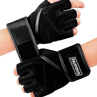 Grebarley Fitness Gloves Guantes de Entrenamiento, Levantamiento ...