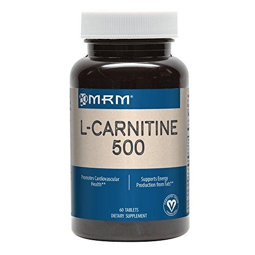 MRM L-Carnitine 500 mg Veg- 60Tablets by MRM